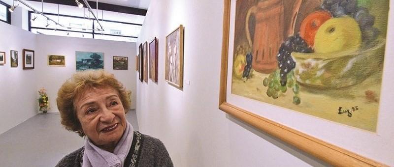 A sus 80 años, Luz demuestra que el arte no tiene edad